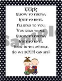 Reading Poster Elbow to Elbow Knee to Knee