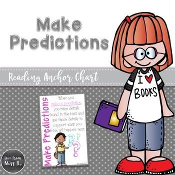 Reading Anchor Chart: Make Predictions