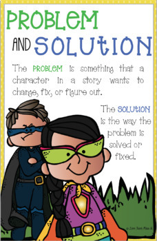 Reading Anchor Chart: Problem and Solution