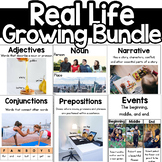 Reading Poster Real Life Kg 1st grade 2nd grade 3rd grade