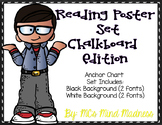 Reading Anchor Charts (Chalkboard)