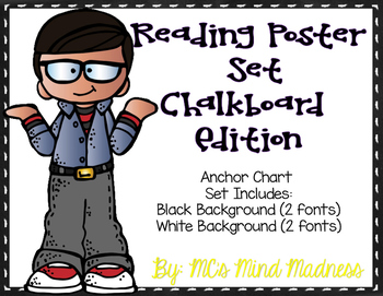 Reading Anchor Charts (Chalkboard)