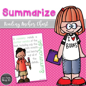 Reading Poster: Summarize
