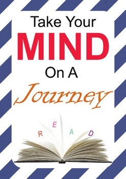 Reading Poster-Take your mind on a journey