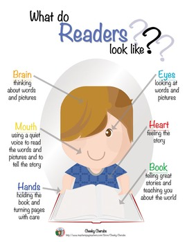 What do Readers Look Like? - Blond Boy {Reader Poster}