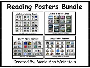 Reading Posters Bundle
