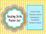Reading Posters: Central Idea, Characterization, Connotation, Sensory Details