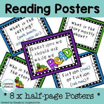 Reading Posters FREEBIE