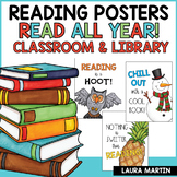 Back to School |Reading Posters | Classroom Posters | Library Posters