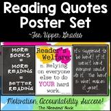 Classroom Decor: Reading Posters for Upper Grades