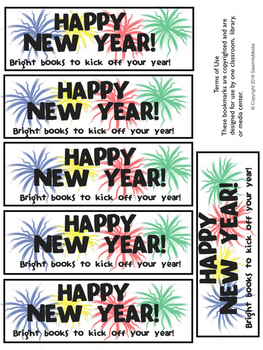 Reading Posters and Bookmarks Through the Year - Bundle - 52 sets
