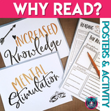 Why Read: Reading Posters, Reflection Activity, and Vision Board for Secondary