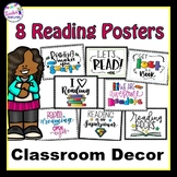 Reading Posters for Classroom Decor