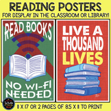 Reading Posters for Display in Classroom or Library