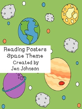 Reading Posters space theme