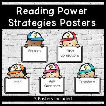 Reading Power Strategies Posters