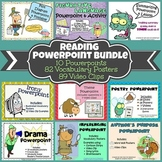 Reading Powerpoint {BUNDLE}: 10 Powerpoints, 89 Videos, &