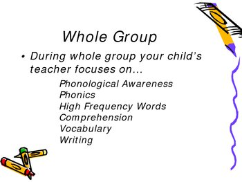 Reading Powerpoint for Open House