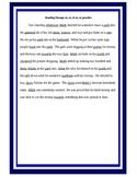 Reading Practice Passage ar,er, ir, ur and Flashcards