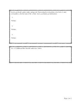 Reading Preparatory Worksheet