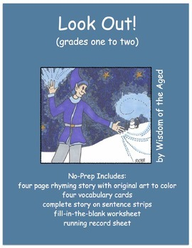 Fall - Printable Book with activities - No Prep - Jack Frost