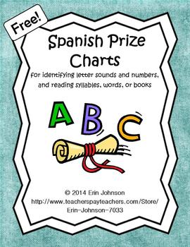 Spanish Prize Charts - Hojas de Premios