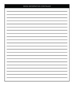 Reading Program Entry Form