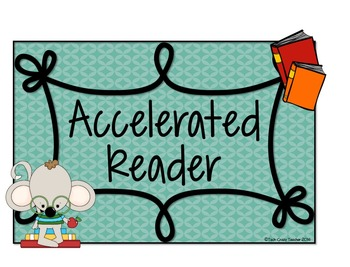 Reading Program Posters and Reading Log: Reading Counts, Accelerated Reader