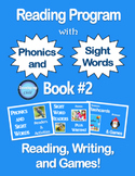 Reading Program with Phonics and Sight Words: Book #2