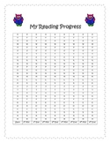 Reading Progress Monitoring Form- Owl Theme