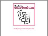 Reading Progress Monitoring Schedule
