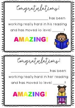 Reading Progression Certificates