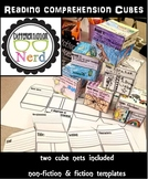 Reading Project: Comprehension Cubes (non-fiction and fiction)
