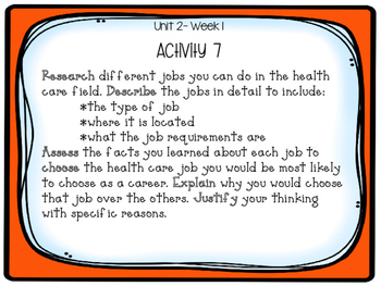 Reading Project-based Learning and Enrichment {Unit 2}