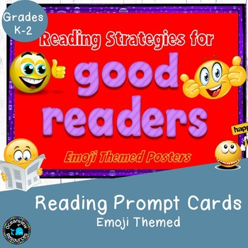 Reading Prompt Cards- Emoji Themed