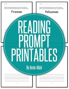 Reading Prompt Printables FREEBIE