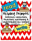 Reading Prompts Assessment Forms for Literacy Center Work & Independent Reading