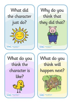 Reading Prompts for Parents