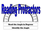 Reading Protractors - Degrees and Angles