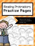 Reading Protractors Practice