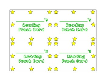 Reading Punch Card