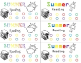 Reading Punch Card or Bookmark
