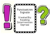 Reading Punctuation- Fluency Practice