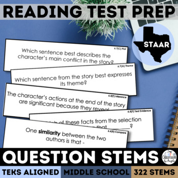 Grades 6 8 Reading ExamView Question Banks Teachers Pay