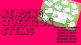 Reading Question Stems - Making Predictions - Questioning
