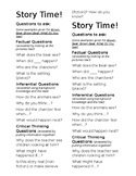 Reading Questions Bookmark