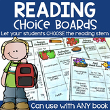 Reading Stem Choice Boards