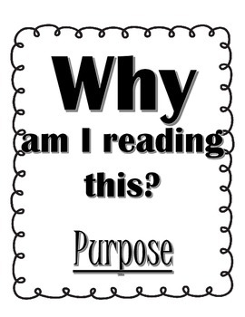 Reading Questions Posters
