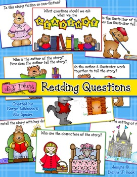 Reading Questions Printables
