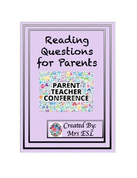 Reading Questions for Parents